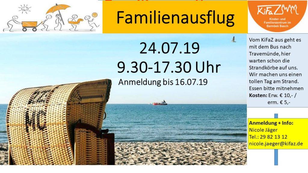 Familienausflug an die Ostsee 24.7.19
