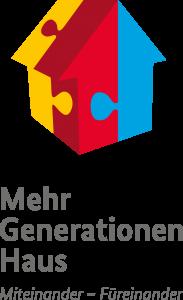"""Logo des Bundesprogramms Mehrgenerationenhaus """"Miteinander-Füreinander"""""""