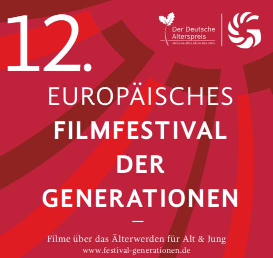 Logo des 12. Europäischen Filmfestivals der Generationen